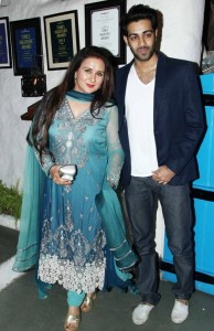 Poonam Dhillon children son Anmol