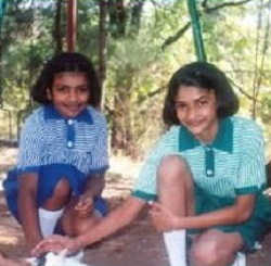 Prachi Desai Childhood pictures 4