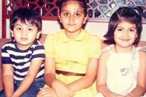 Ragini Khanna Childhood pictures