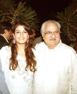Raveena Tandon parents father Ravi
