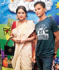 Roopa Ganguly children son Akash