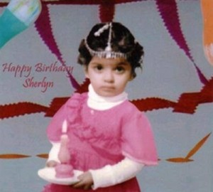Sherlyn Chopra Childhood pictures 1