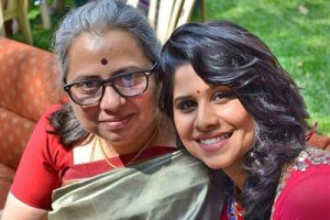 Sai Tamhankar parents mother Mrunalini Tamhankar