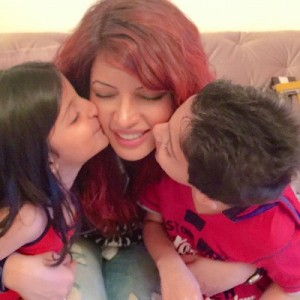 Shama Sikander Rare family photos 3