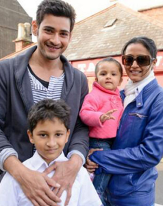 Shilpa Shirodkar elder sister Namrata Shirodkar and her husband Mahesh Babu