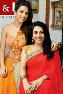 Shraddha Das parents mother Sapna das