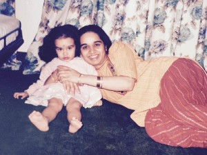 Shraddha Kapoor Childhood pictures 1