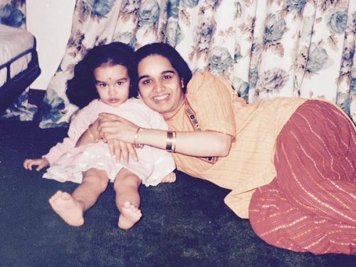 Childhood Pictures Shraddha Kapoor