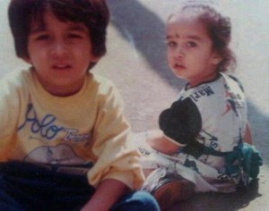 Shraddha Kapoor Childhood pictures 2