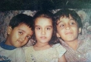 Shraddha Kapoor Childhood pictures 4