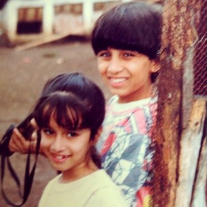 Shraddha Kapoor Childhood pictures 6