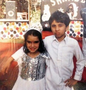 Shraddha Kapoor Childhood pictures 7