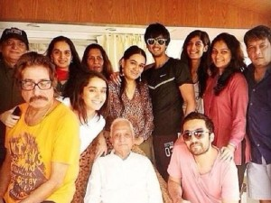 Shraddha Kapoor Rare family photos 3