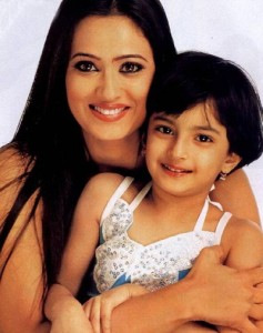 Shweta Tiwari Rare family photos 3