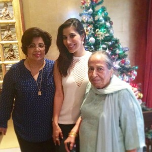Sophie Choudry Rare family photos 1