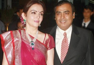 Tina Ambani Brother-in-law Mr. Mukesh Ambani and his wife Nita Ambani