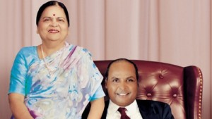 Tina Ambani Parents-in-law Mr. Dhirubhai Ambani and Kokilaben Ambani
