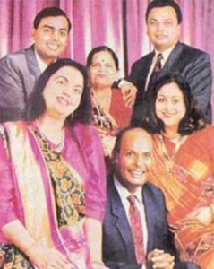 Tina Ambani Rare family photos 1