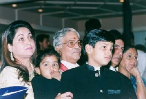 Tina Ambani Rare family photos 2