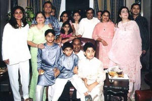 Tina Ambani Rare family photos 5