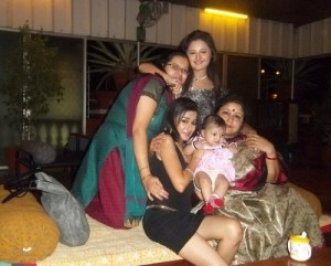 Tina Dutta Rare family photos 3