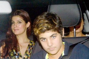Twinkle Khanna children son Aarav