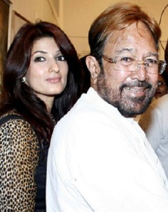 Twinkle Khanna parents father Rajesh Khanna