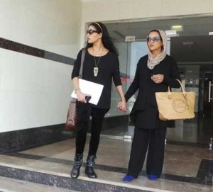 Veena Malik parents mother Zeenat Malik